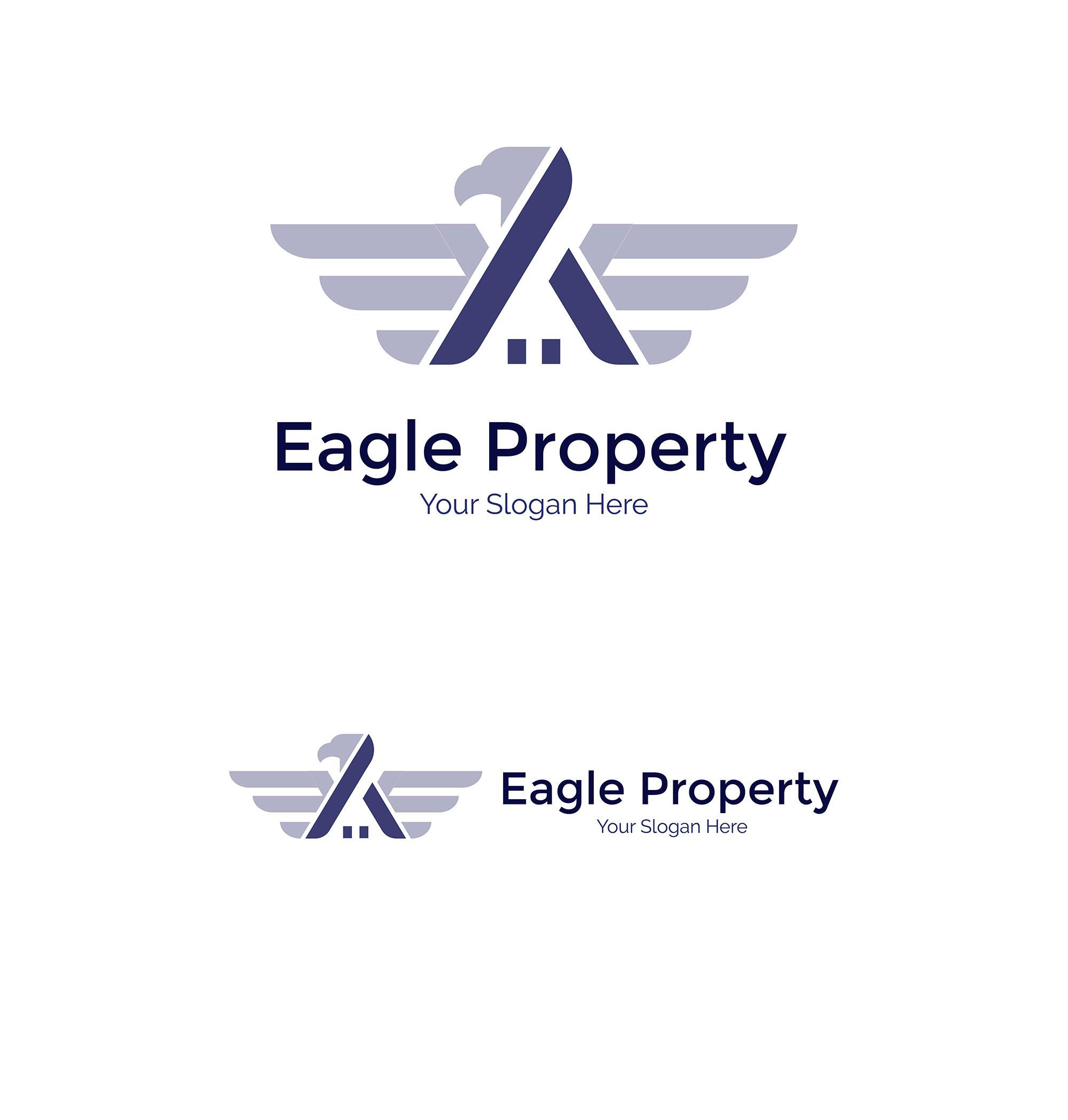 Eagle Construction Logo - Animal logo example image 3