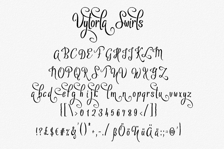Vytorla Font Trio example image 5