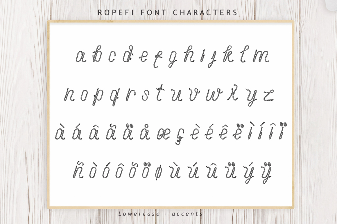 Ropefi Font example image 9