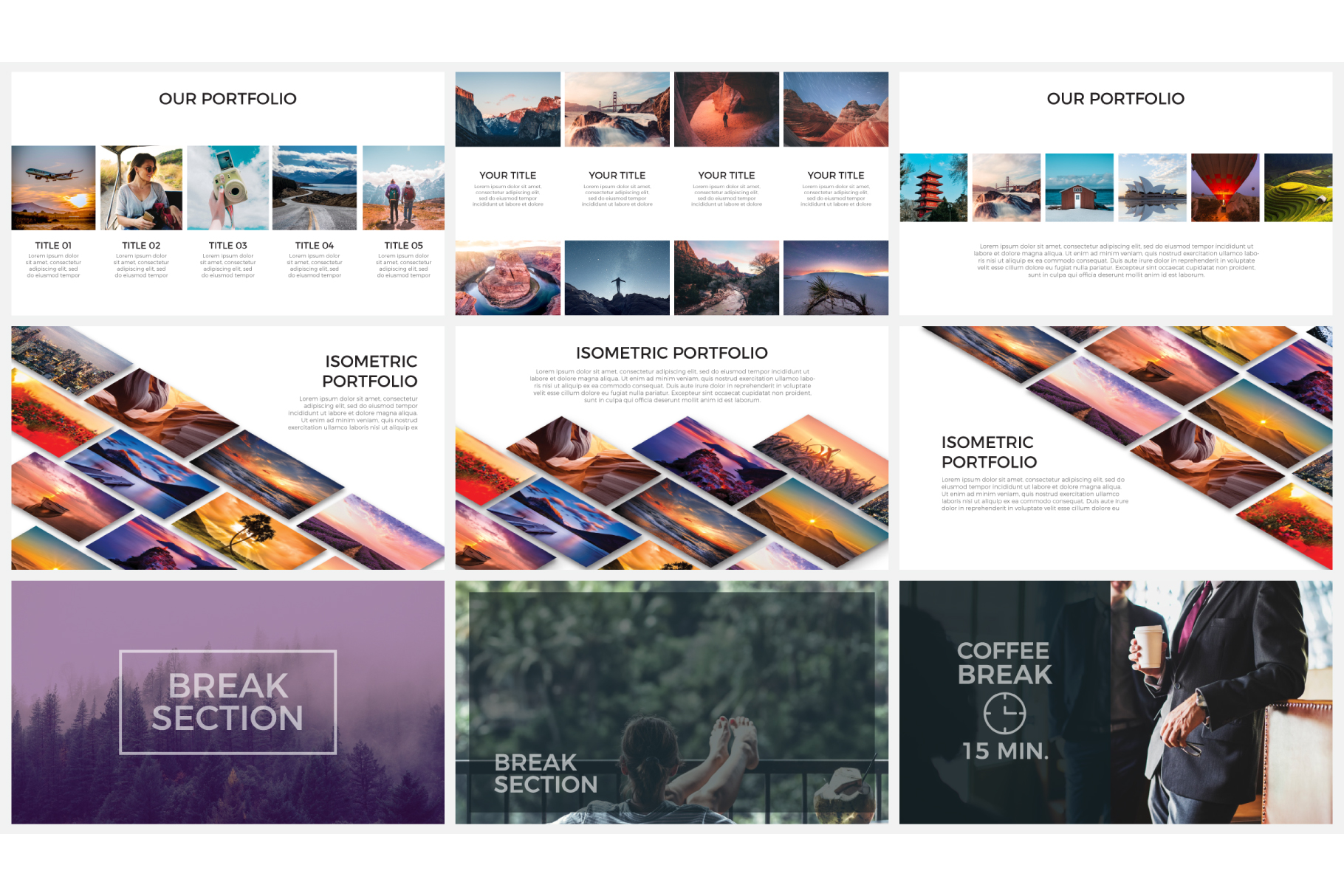 Photo slides presentations example image 6