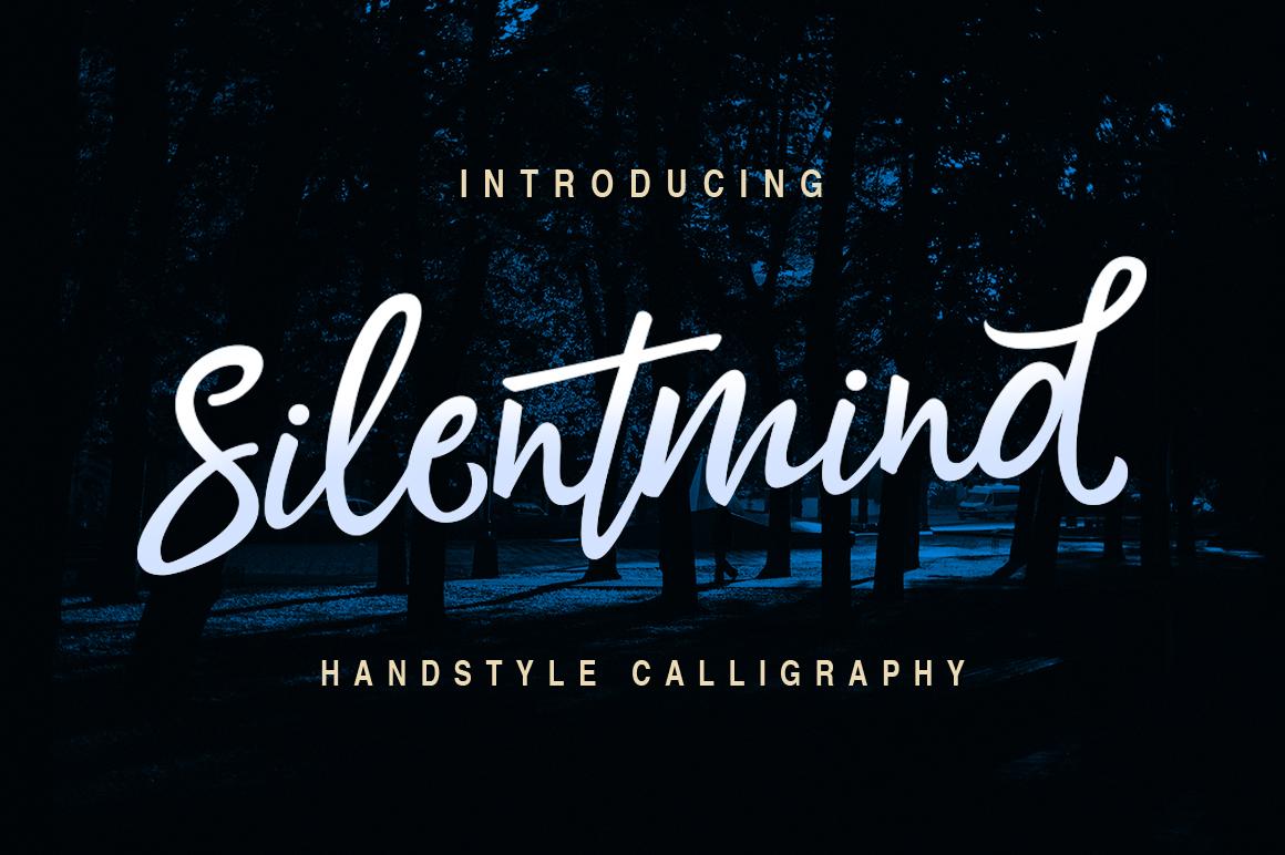 Silentmind Typeface example image 1