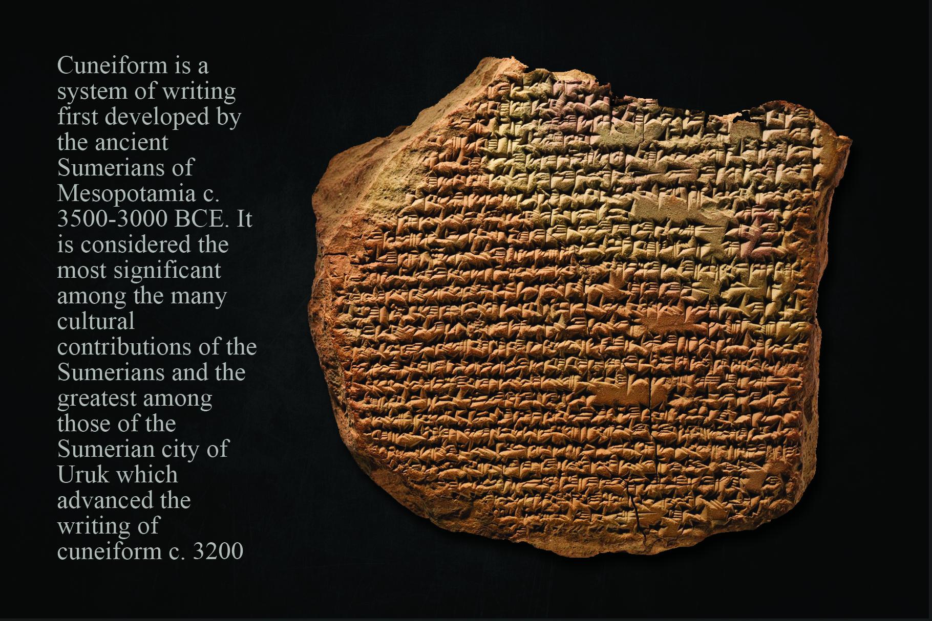 CUNEIFORM, An Ancient Typeface example image 4