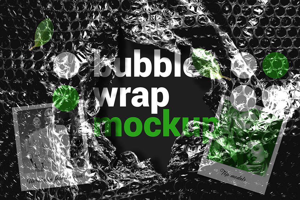 Bubble Wrap Mockup example image 1