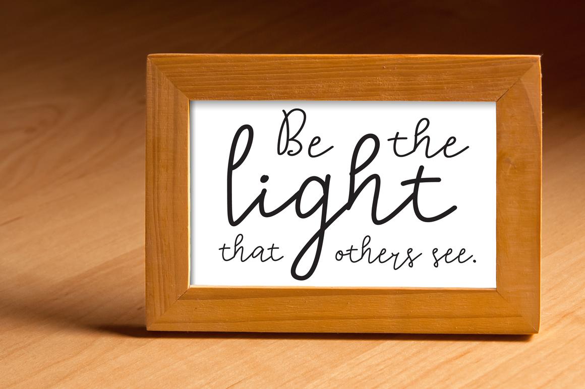 Lighting Script Font example image 3