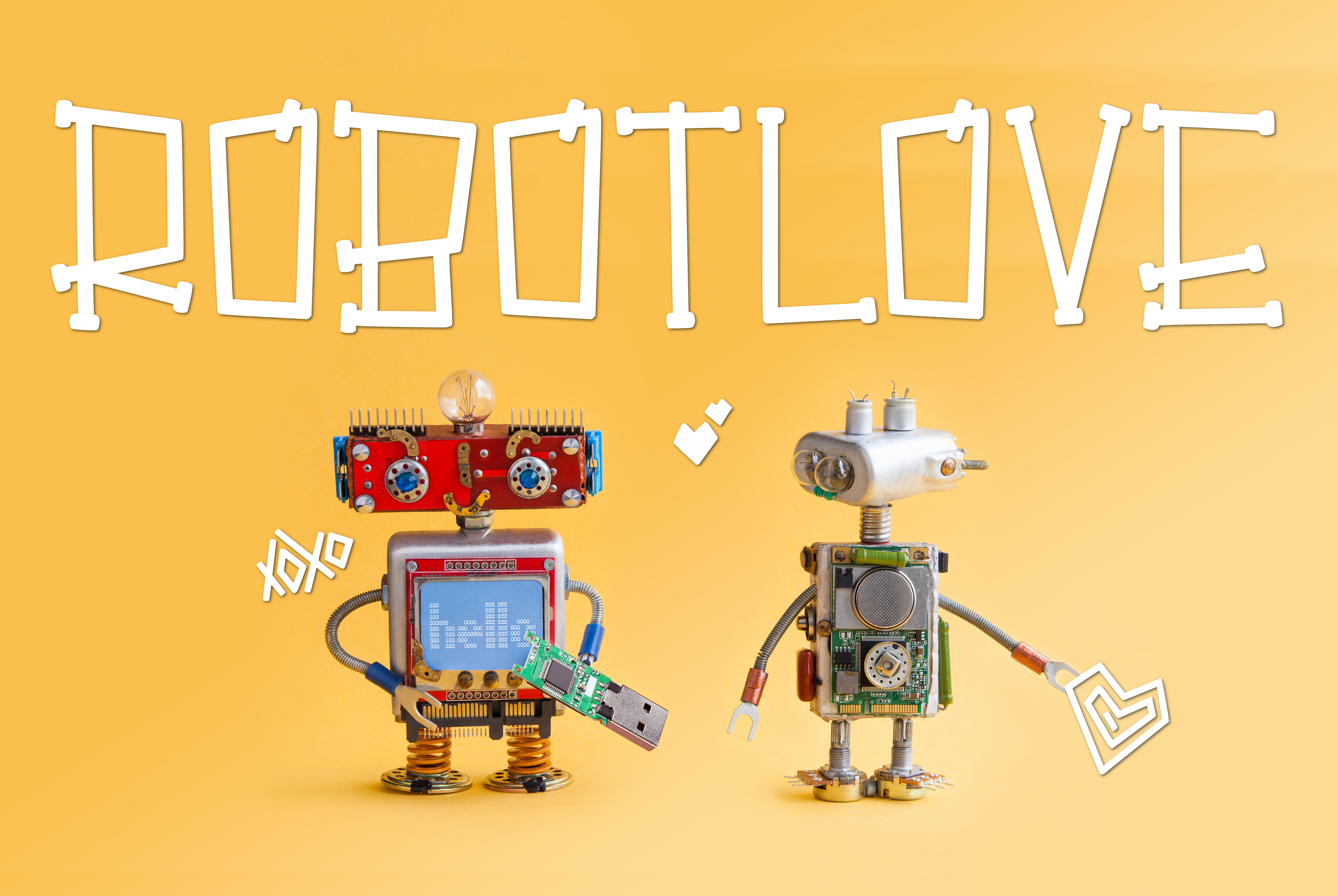 Robot Love example image 1
