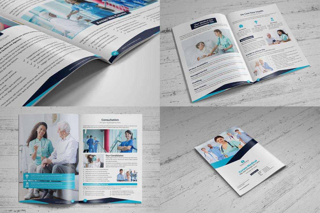 Medical HealthCare Brochure Bundle example image 3