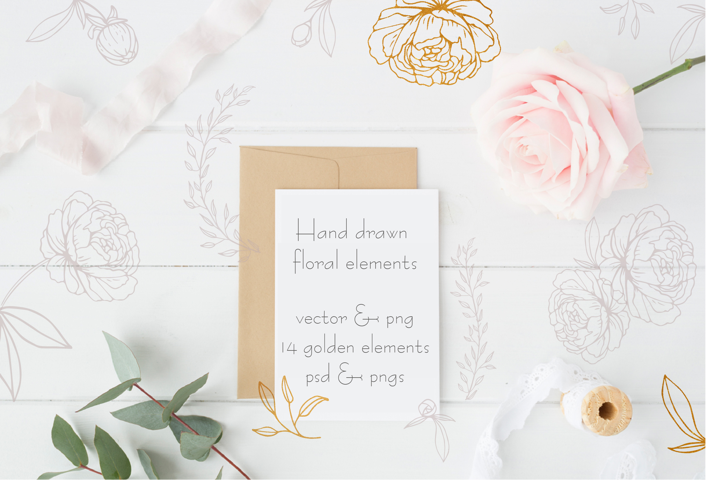Amelie Floral Display Font example image 9