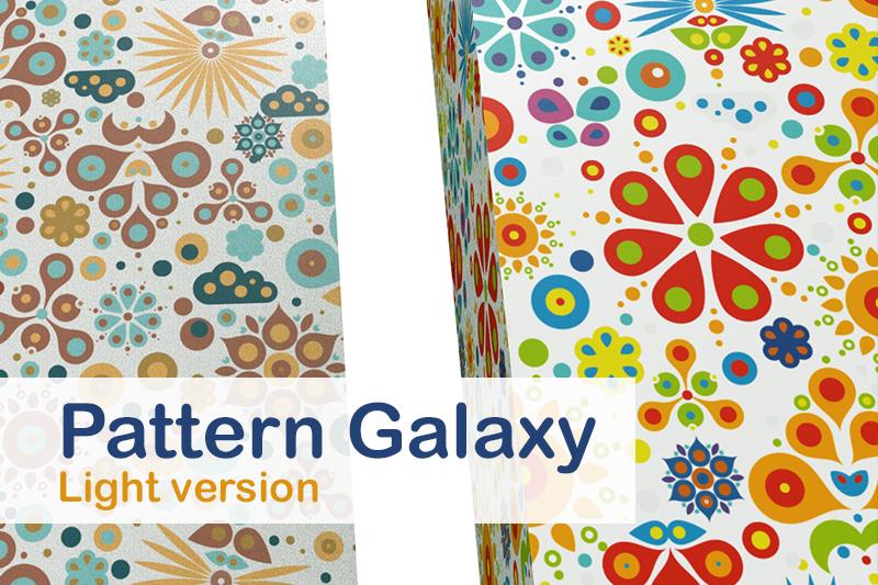 Pattern Galaxy / light version example image 1