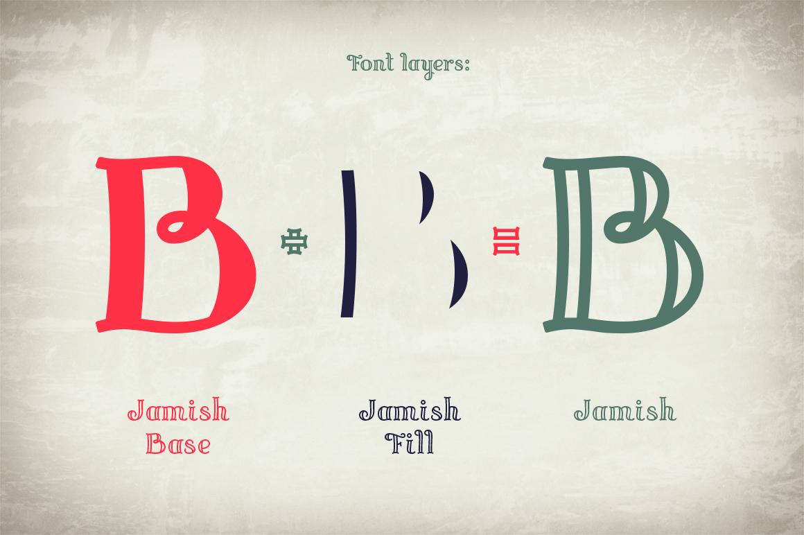 Jamish Font & Mockup example image 5