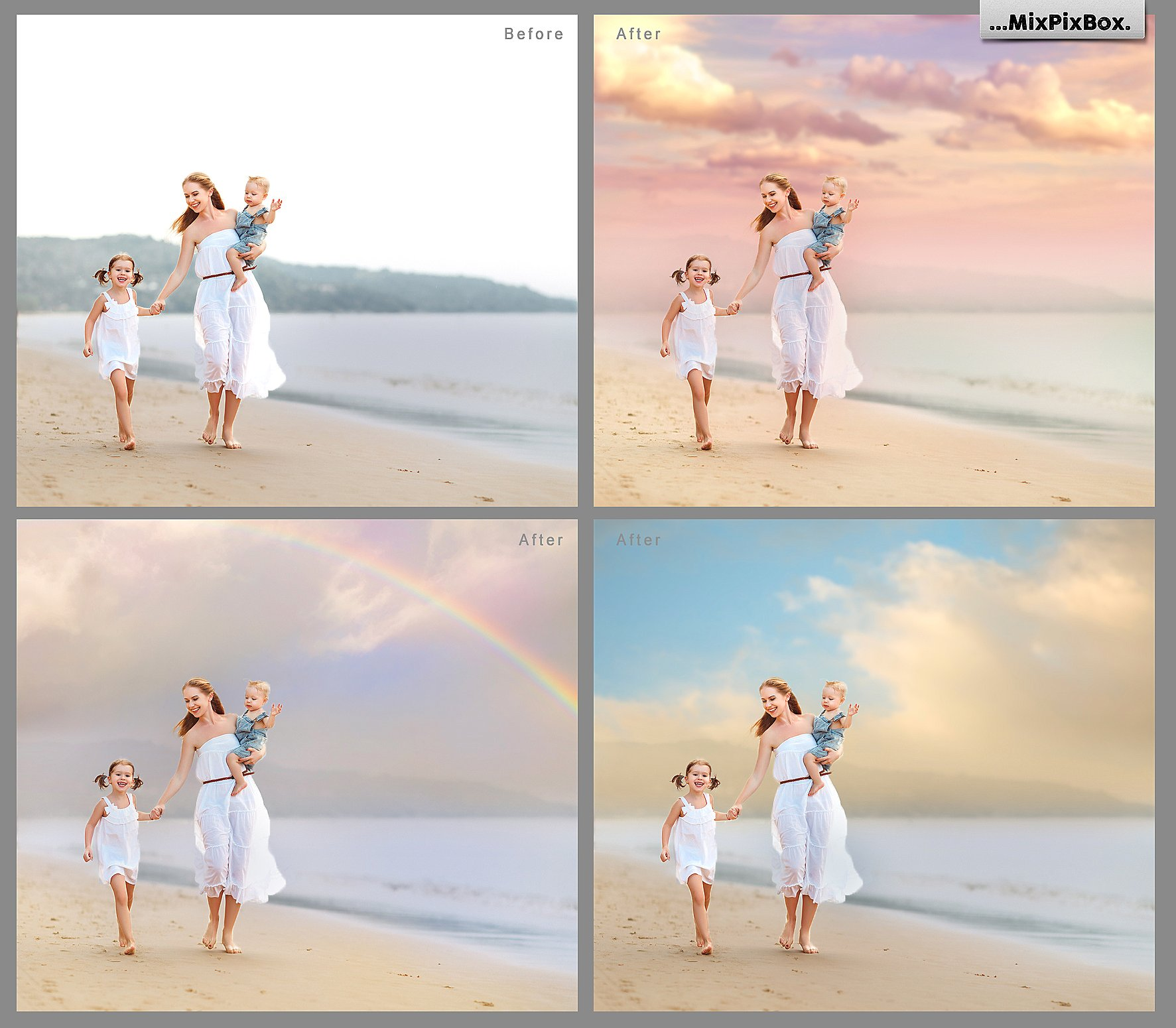 60 Romantic Sky Overlays example image 2