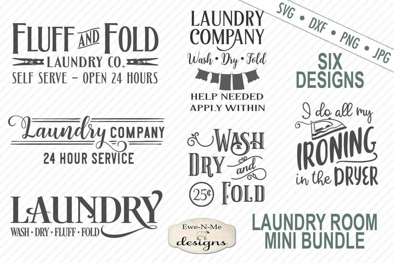Download Laundry Bundle - Laundry Room SVG DXF Cut Files