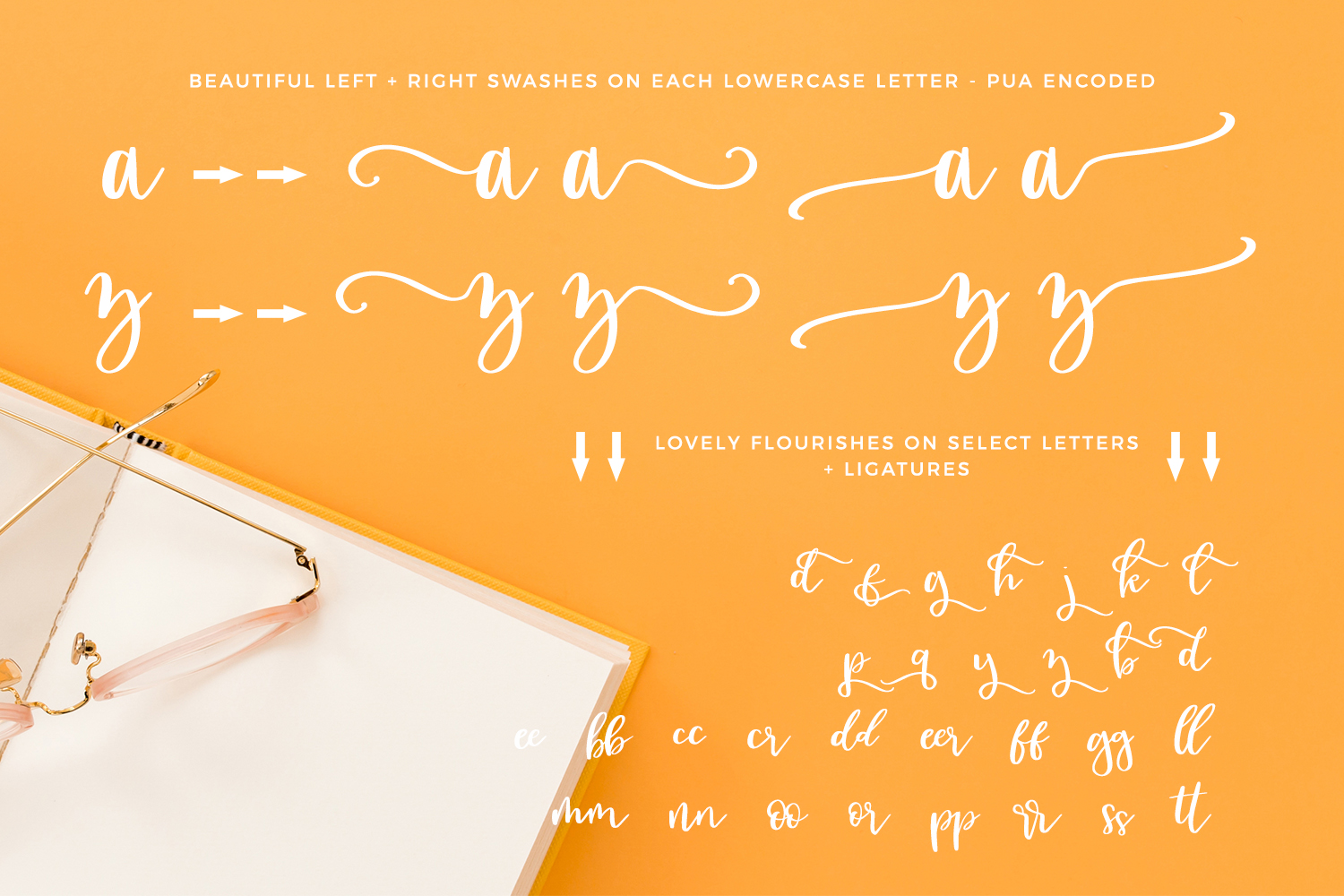 Sugarlove Bounce Calligraphy Font example image 7