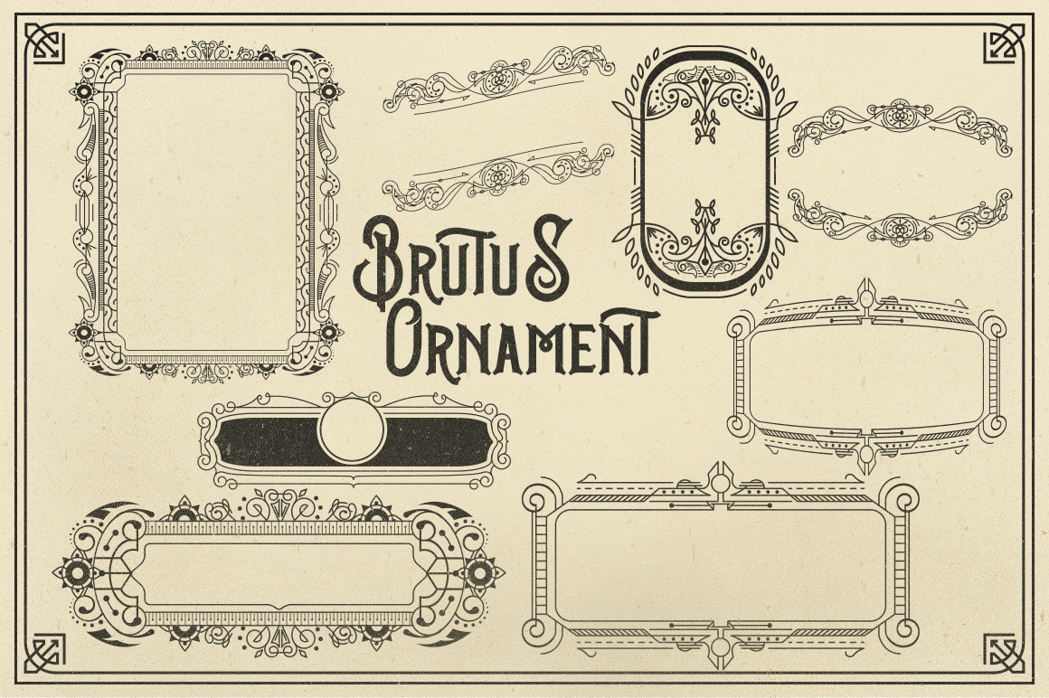 Brutus Typeface example image 8