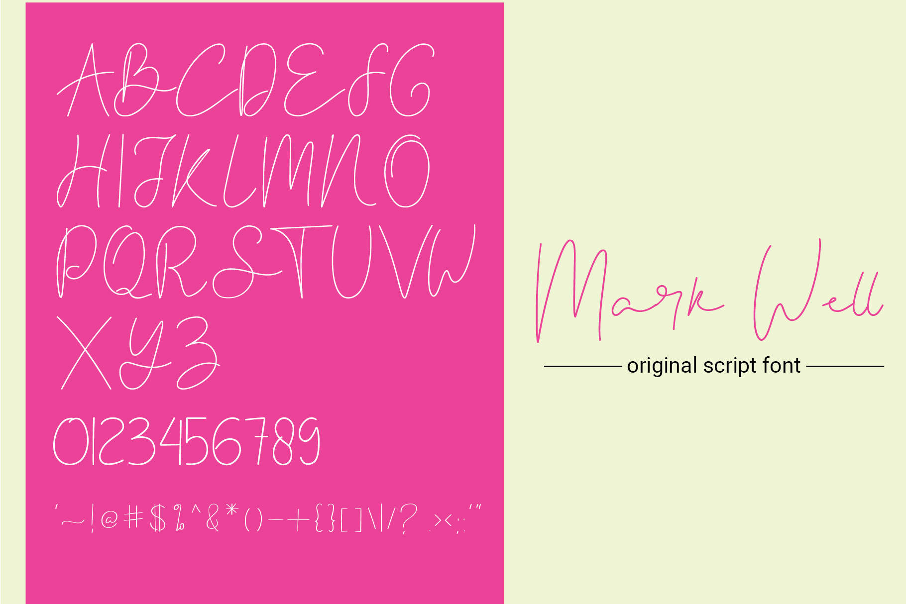 Lethal Markwell Duo Font example image 3