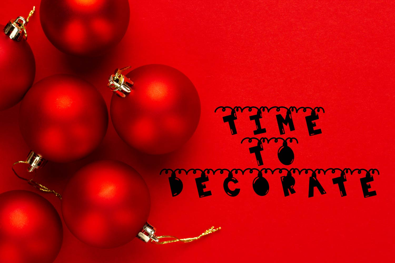 Chime - A Hanging Christmas Ornament Font example image 8
