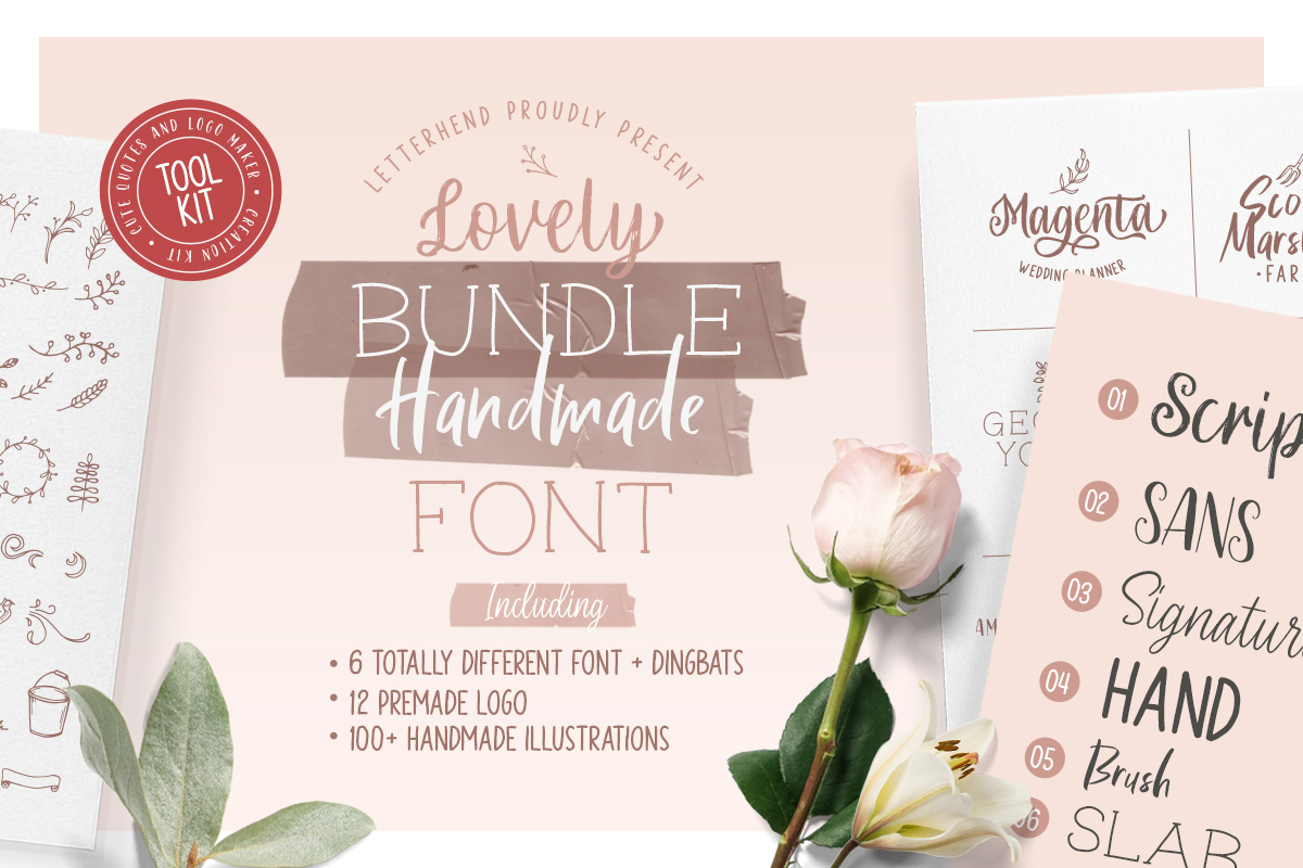 Olive - Hand Lettering Tool Kit! example image 1
