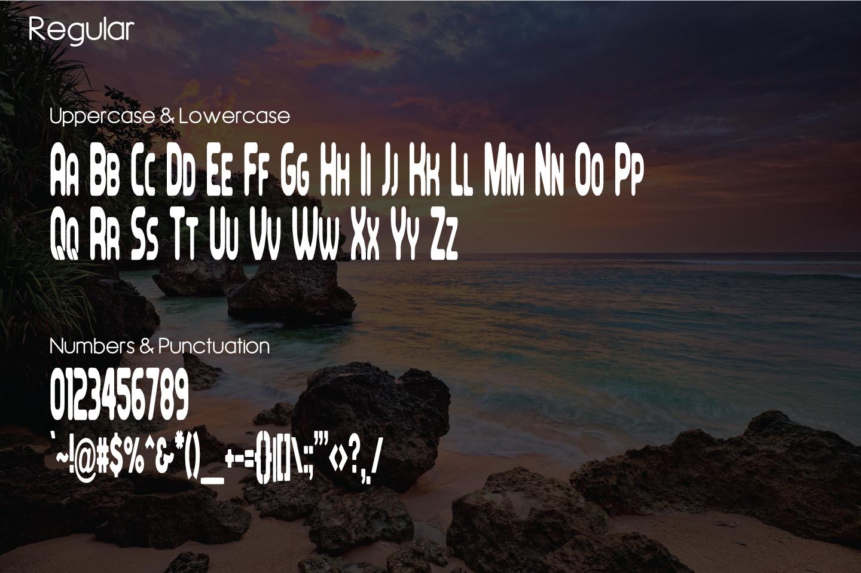 Feondra Font Duo | a Combination of Sans & Script Font example image 5