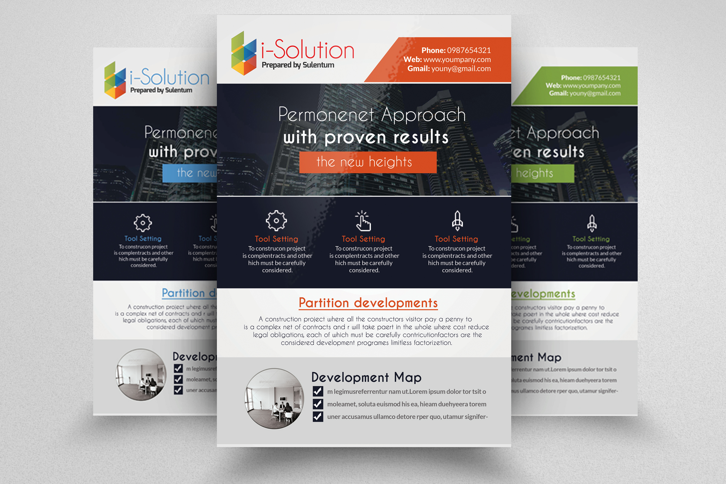 7 Corporate Business Flyers Bundle example image 6