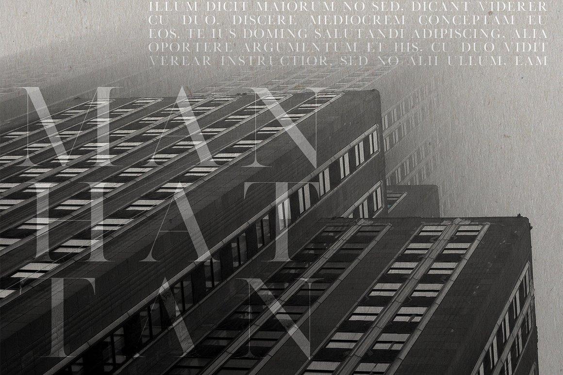 Manhattan | A High Class Serif example image 4
