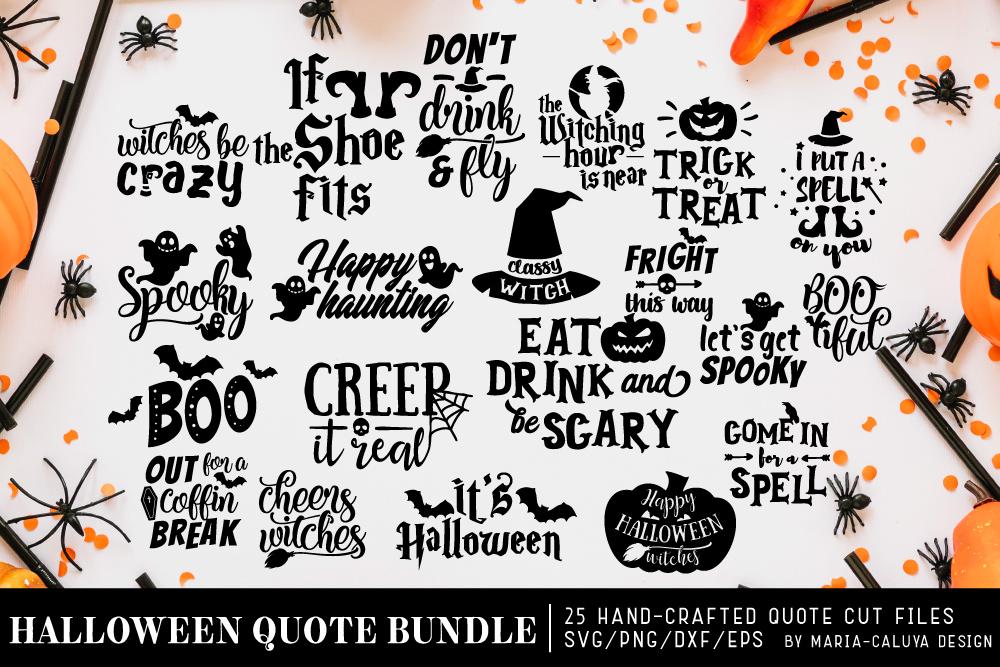Halloween SVG Cut File Bundle example image 1