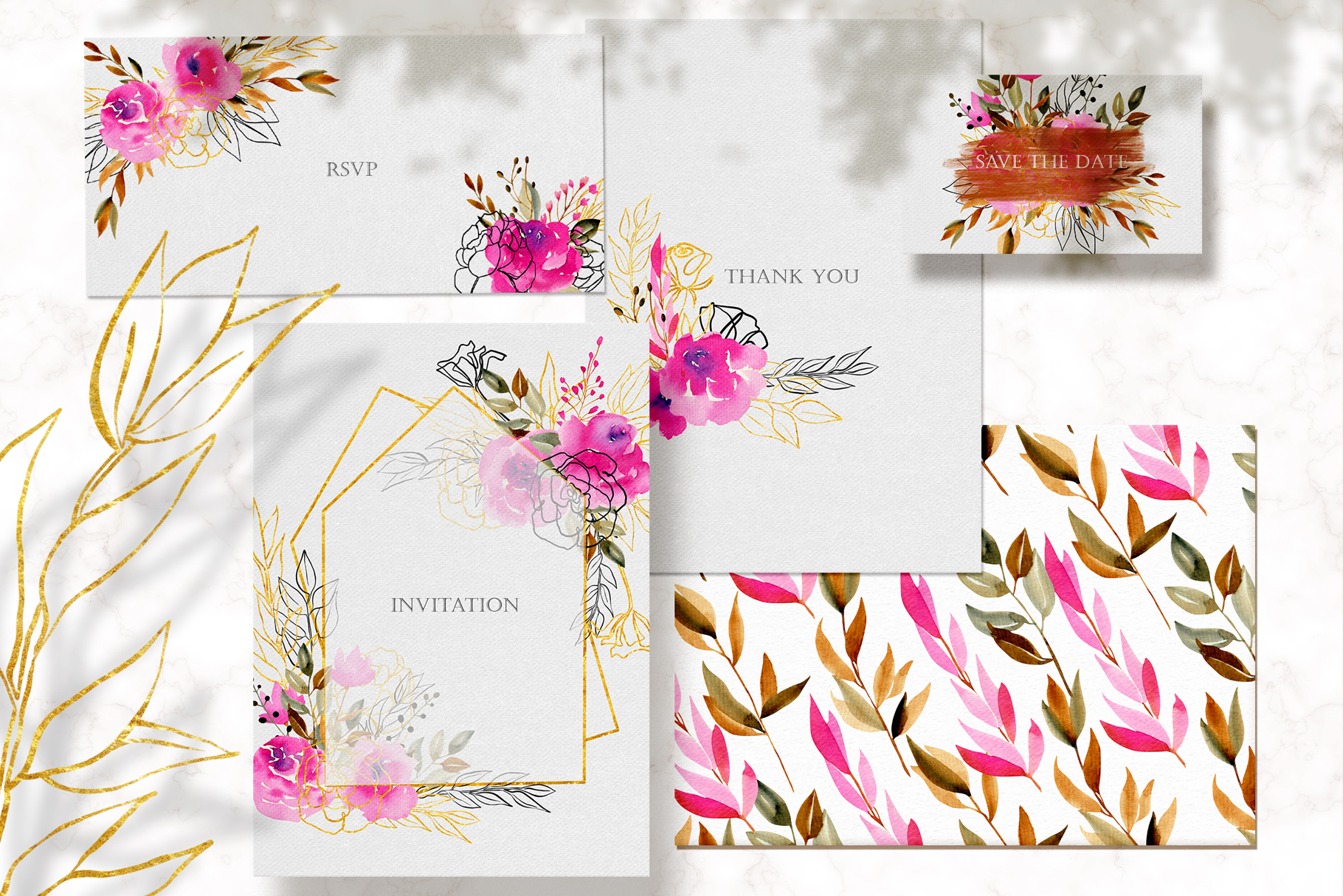Crimson and Gold collection example image 12