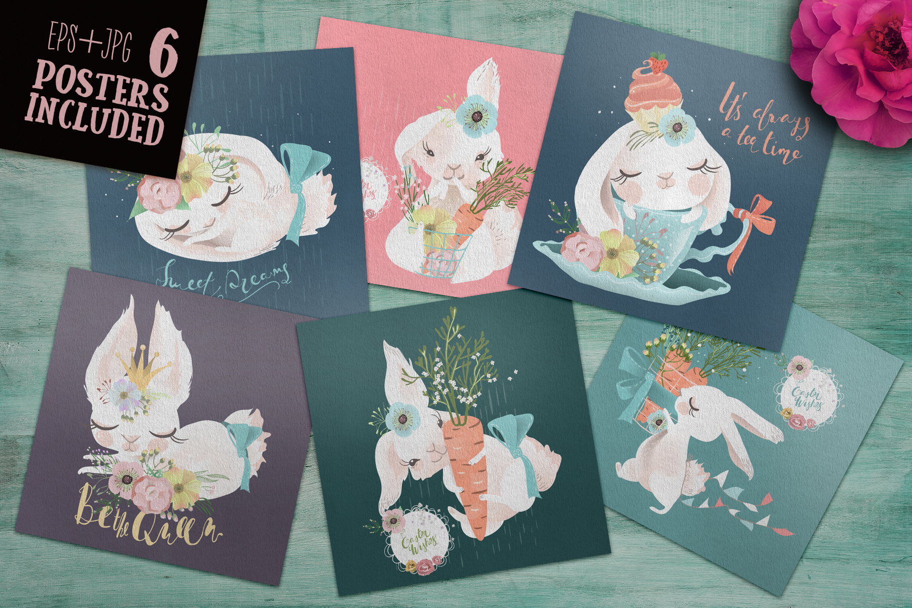 Lovely Bunnies Collection example image 4