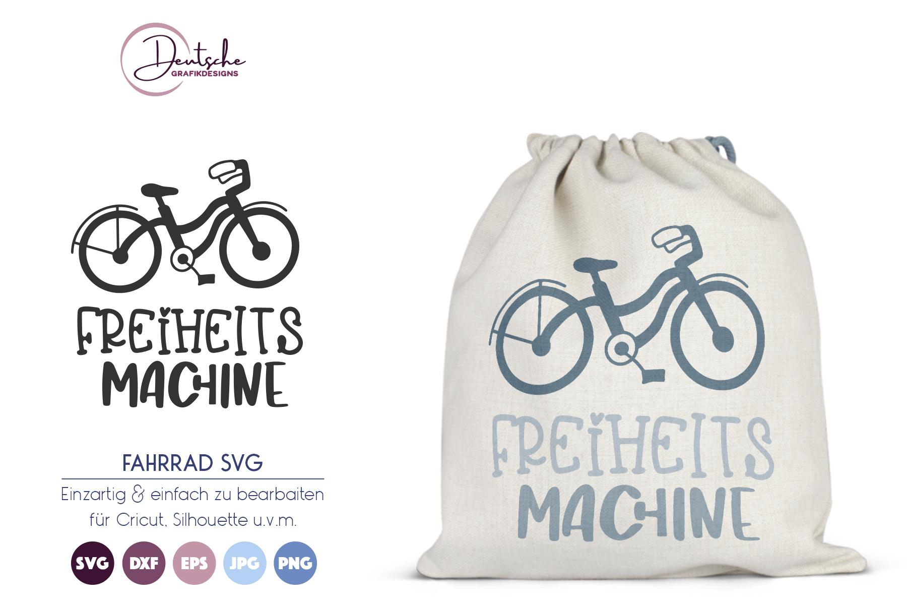 Fahrrad SVG | Freiheits Machine example image 1