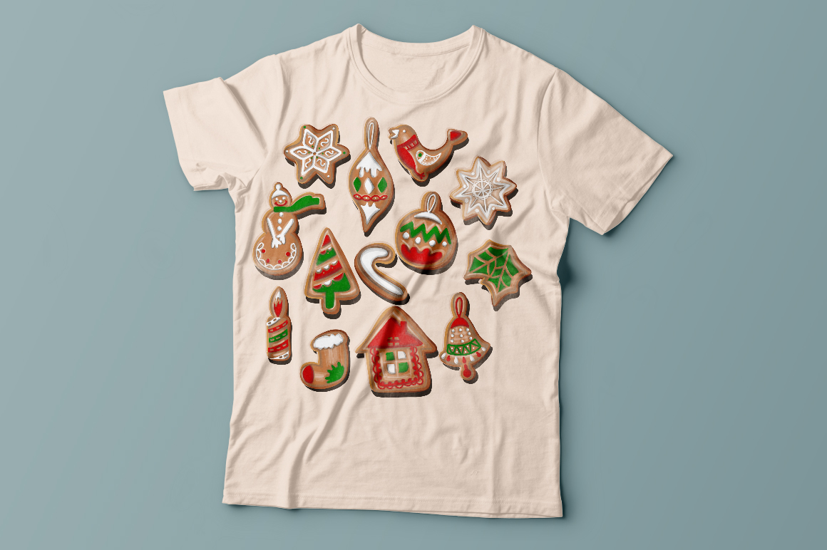 Christmas cookies set. example image 5