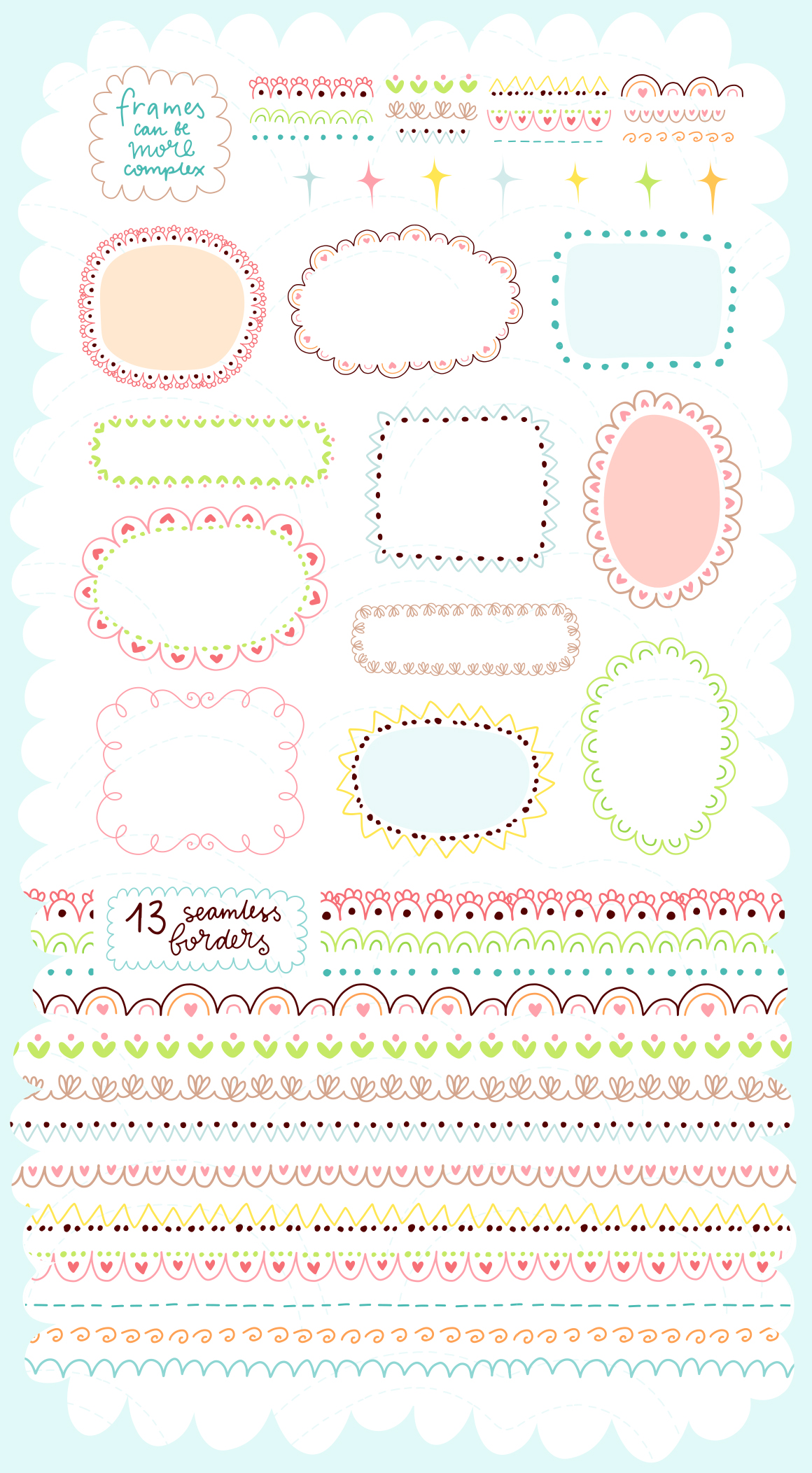 Spring is Here! Graphics & Patterns example image 8