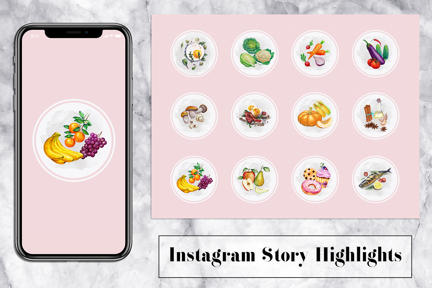 Food Instagram Story Icons example image 1