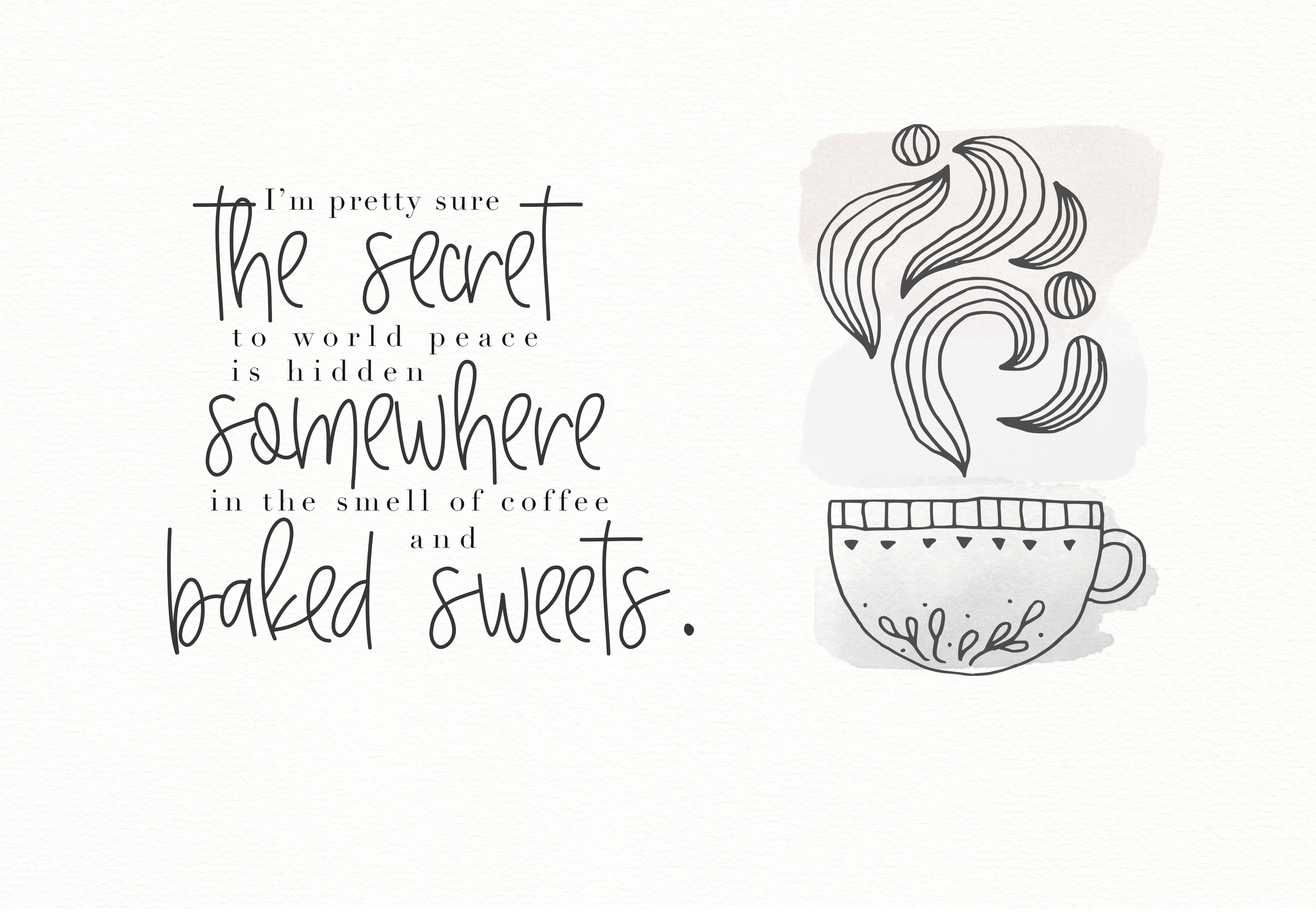 Baked Goods - A Handwritten Signature Font example image 3