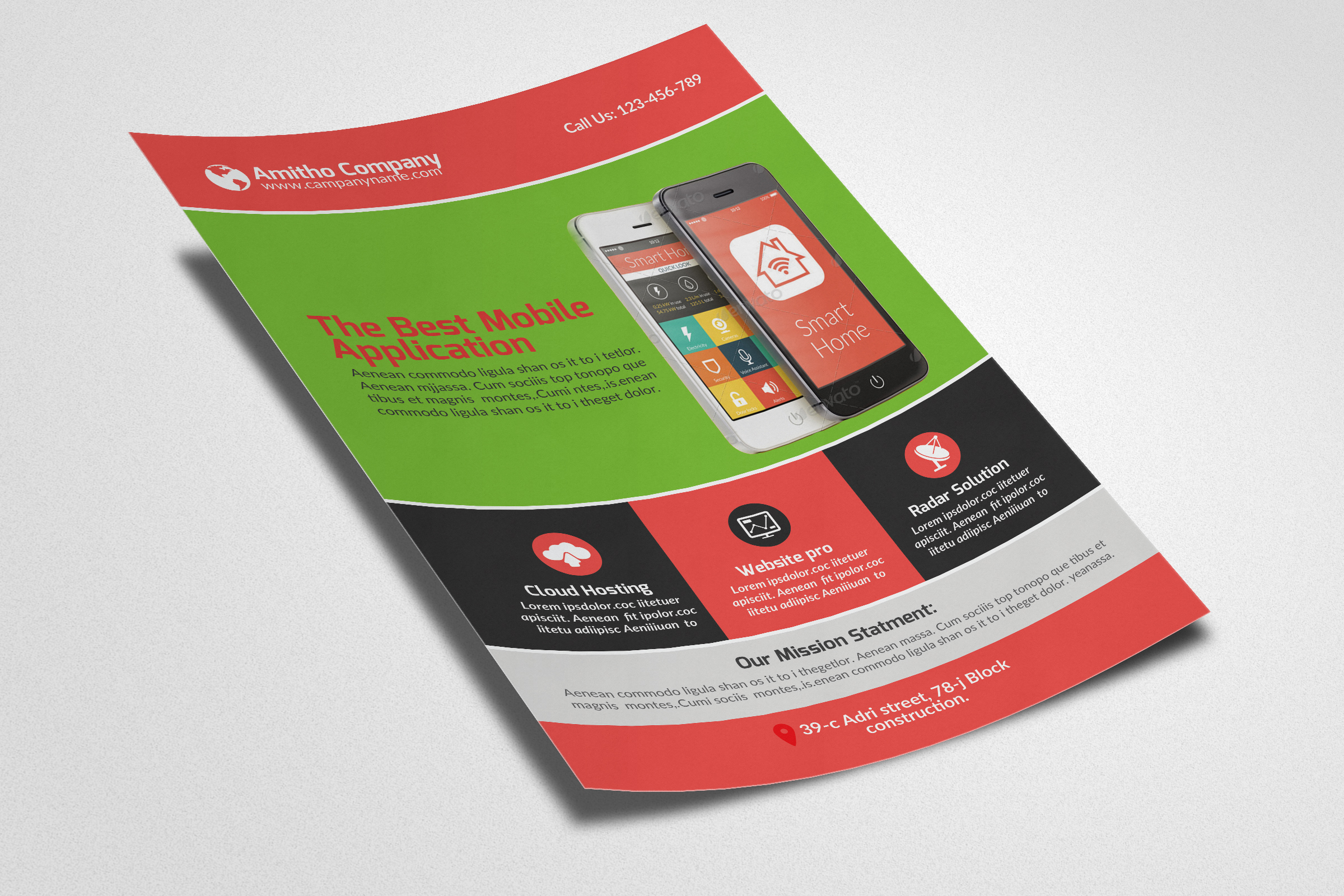 Mobile Apps Flyers example image 3