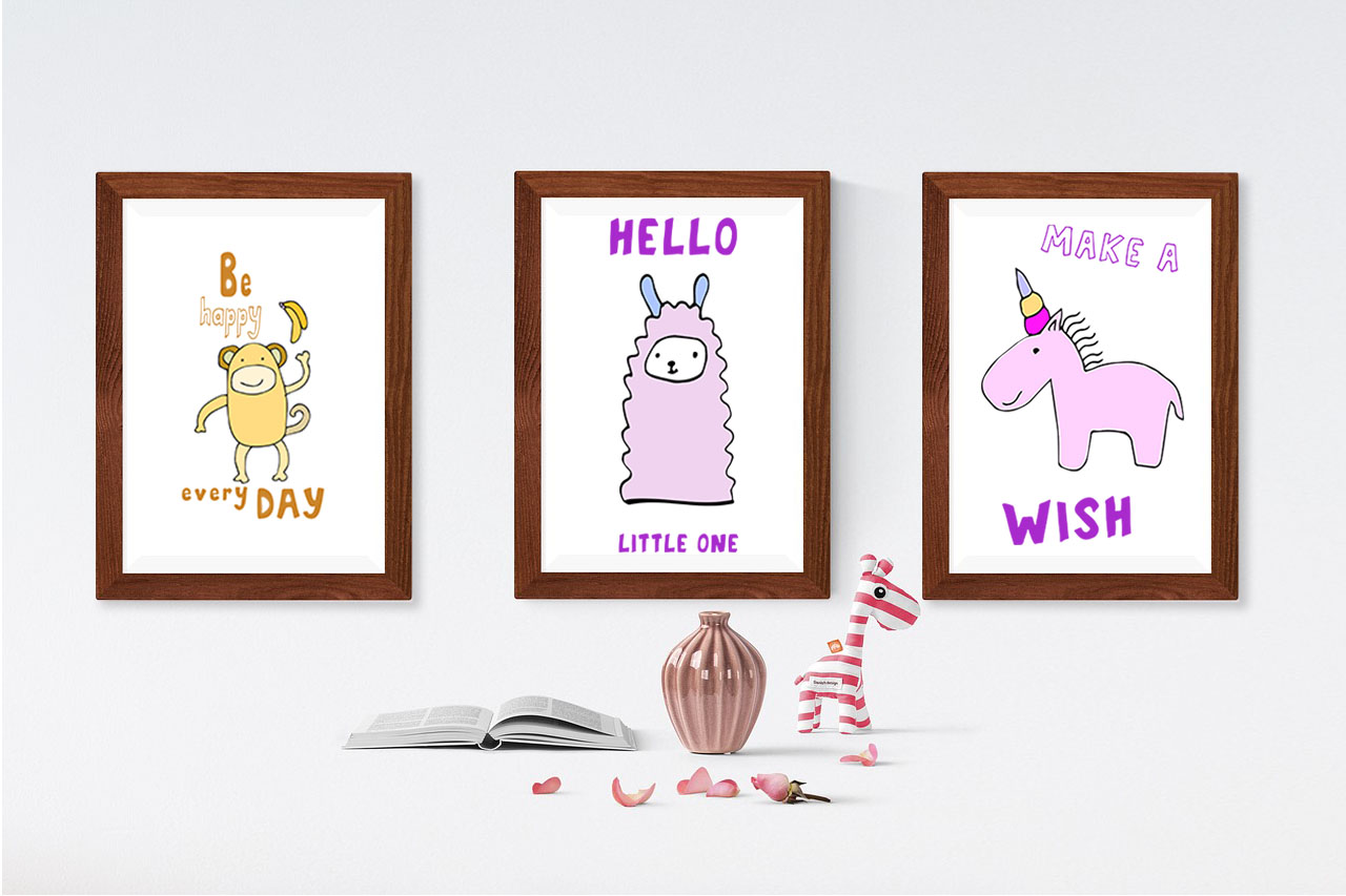 Kids' Room typeface with Outline and Solid versions example image 7