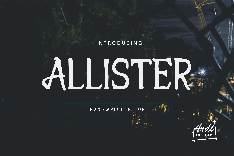 Brush Font Bundle example image 9