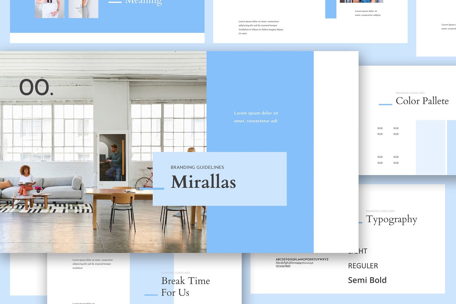Mirallas Brand Guidelines Powerpoint example image 4