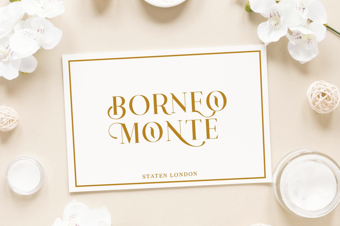 Konseric   Luxury Serif Font example image 9