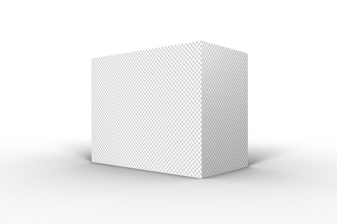 9.7.5 Simple 3D Box Mockup PSD example image 2