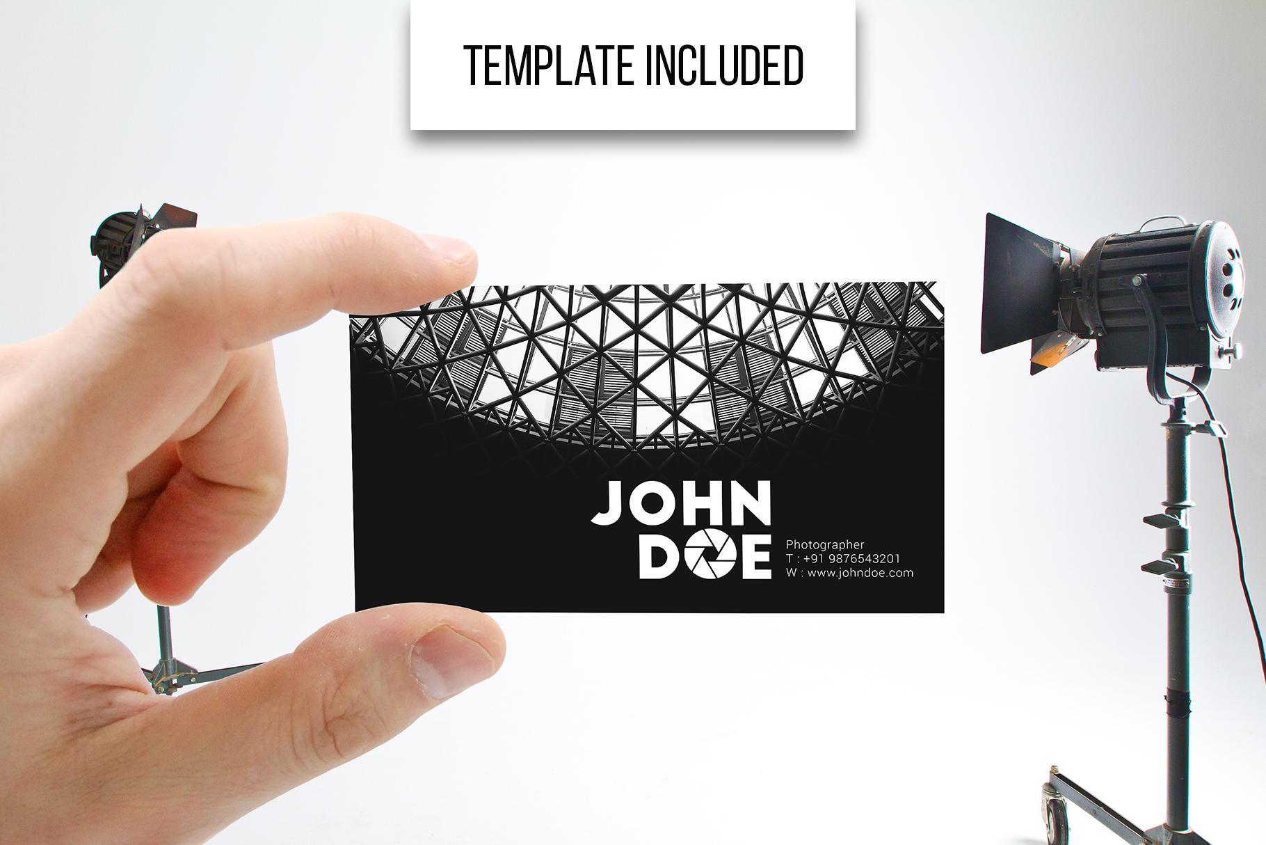 Business Card MockUps Bundle + Bonus example image 14