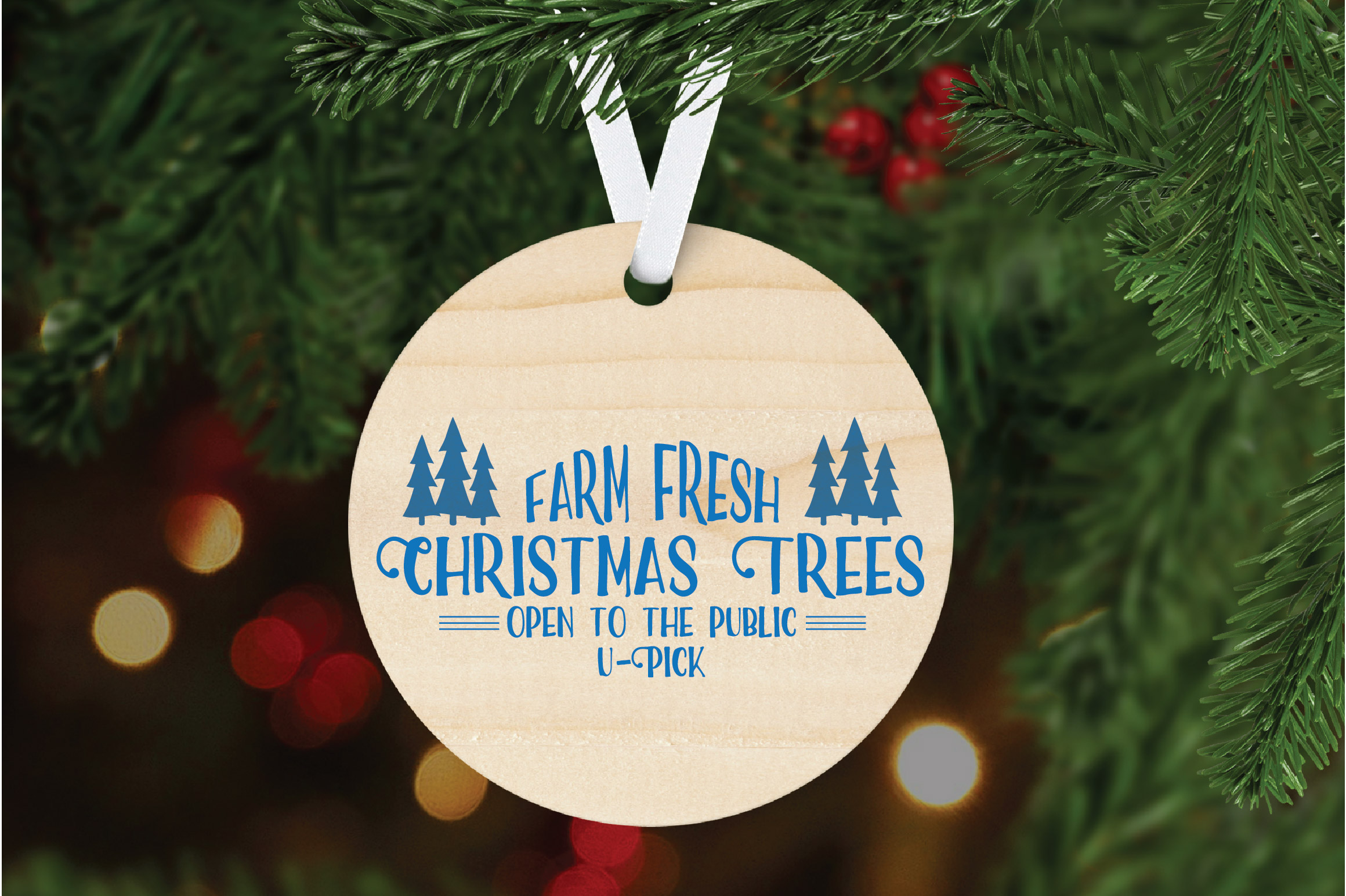 Christmas SVG Cut File - Christmas Trees SVG DXF PNG EPS JPG example image 6