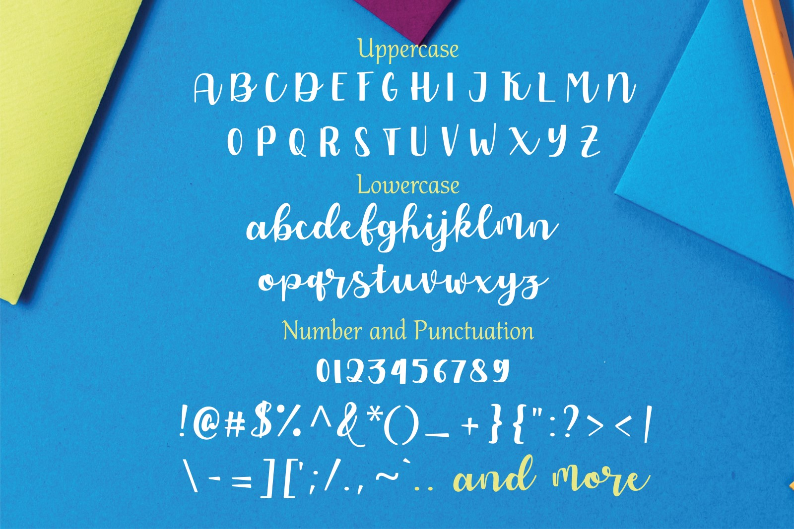 Allyca - Font Family example image 7