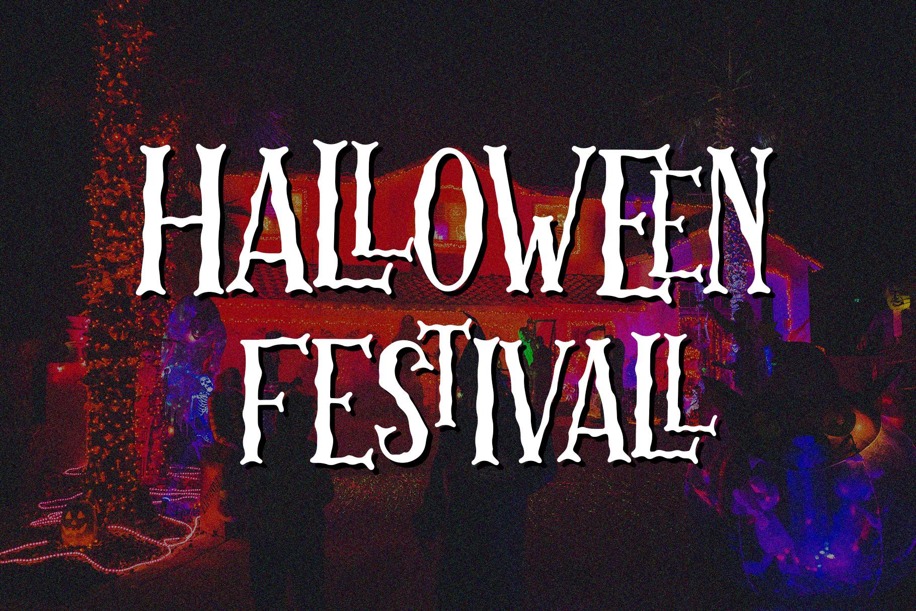 Skellington Hollow - Creepy Font example image 6