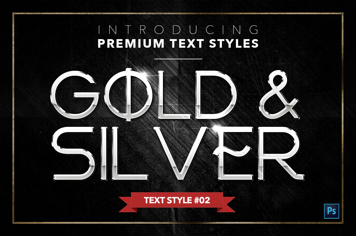 Gold & Silver #4 - 20 Text Styles example image 22