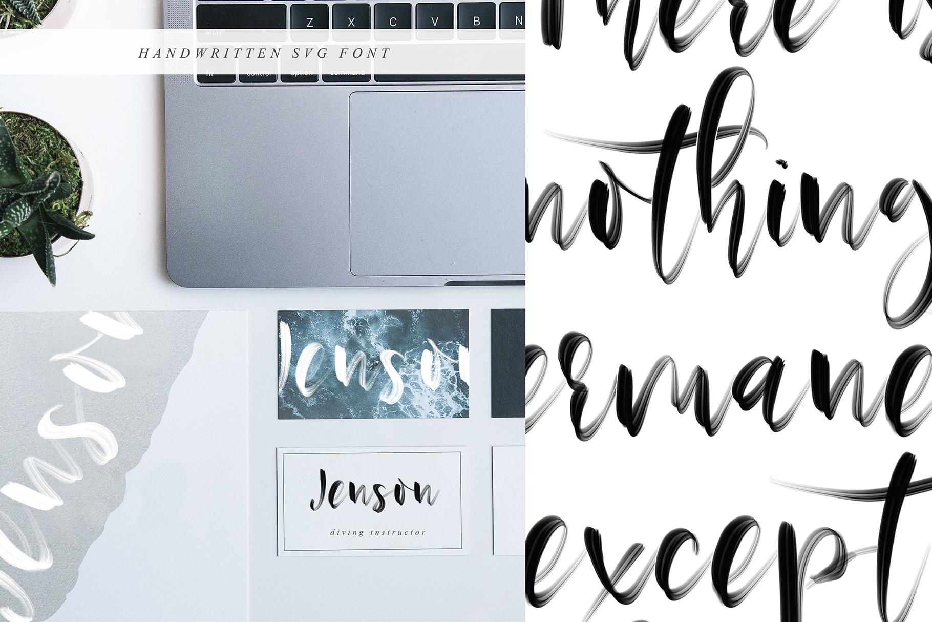 Ostinel SVG Font example image 7