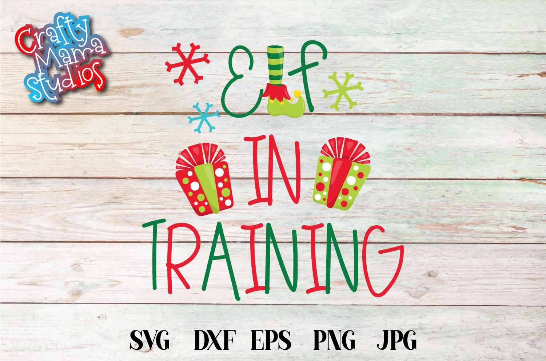 Christmas Elf Bundle, Elf SVG Sublimation, Elfin Cool SVG example image 3