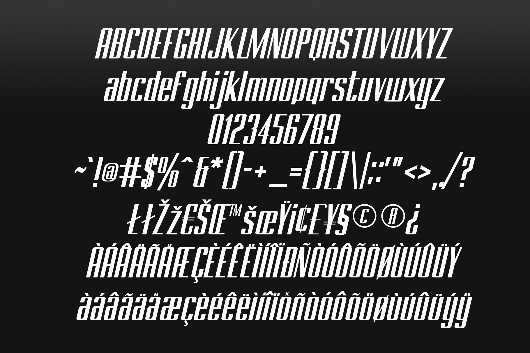 BRANCHE - Display Font example image 13