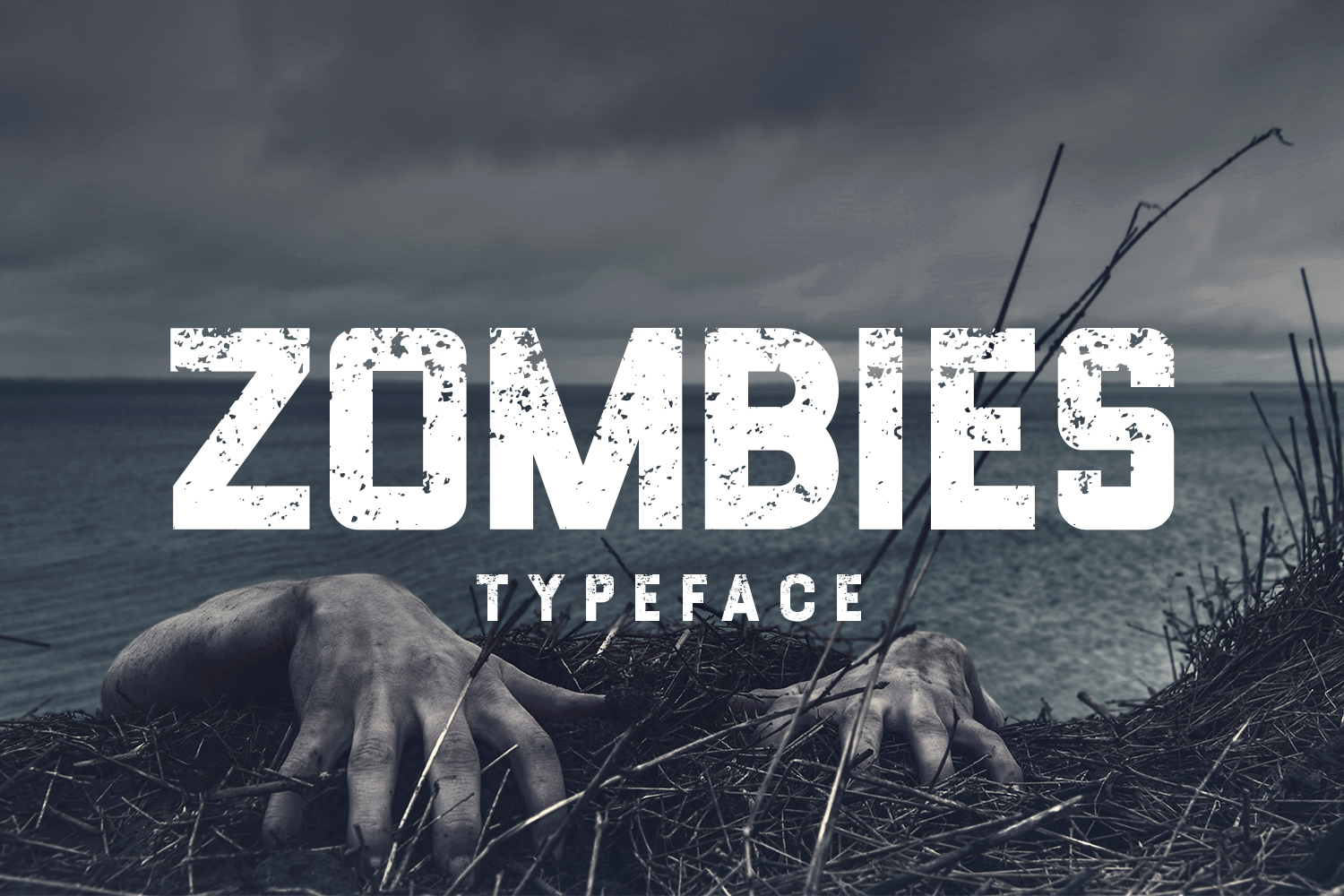 Zombies Typeface example image 1