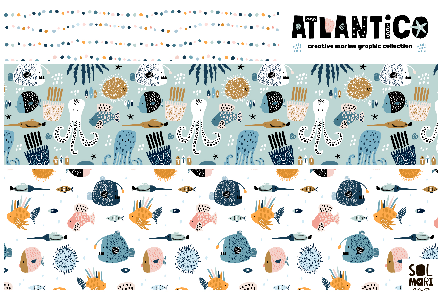 ATLANTICO. Marine graphic collection example image 4