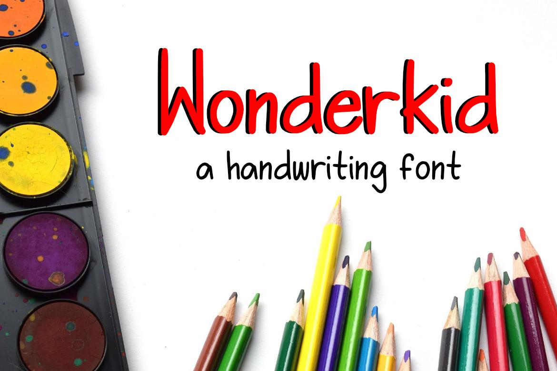 Wonderkid Font example image 1