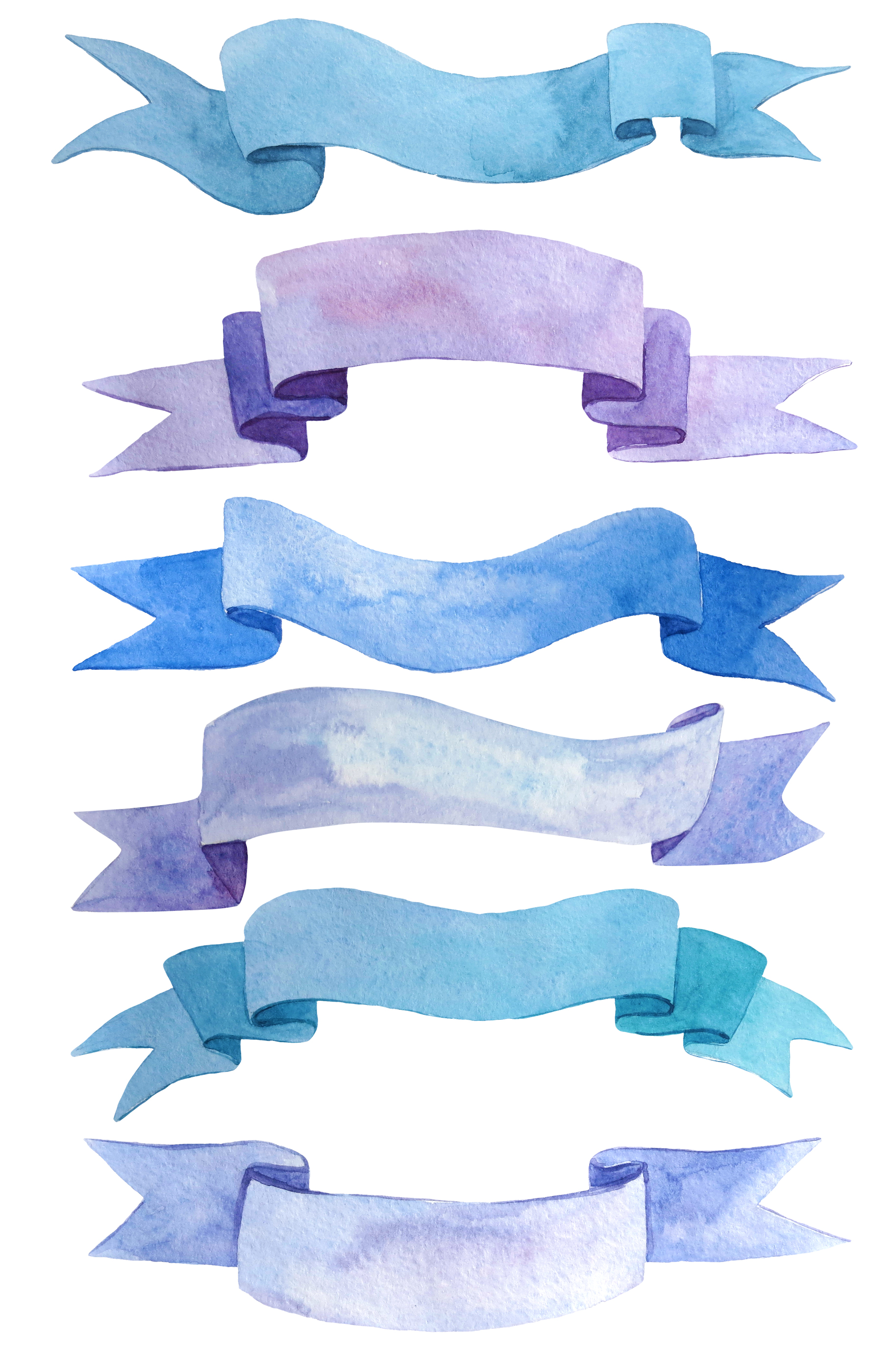 Ribbons and bows watercolor example image 5