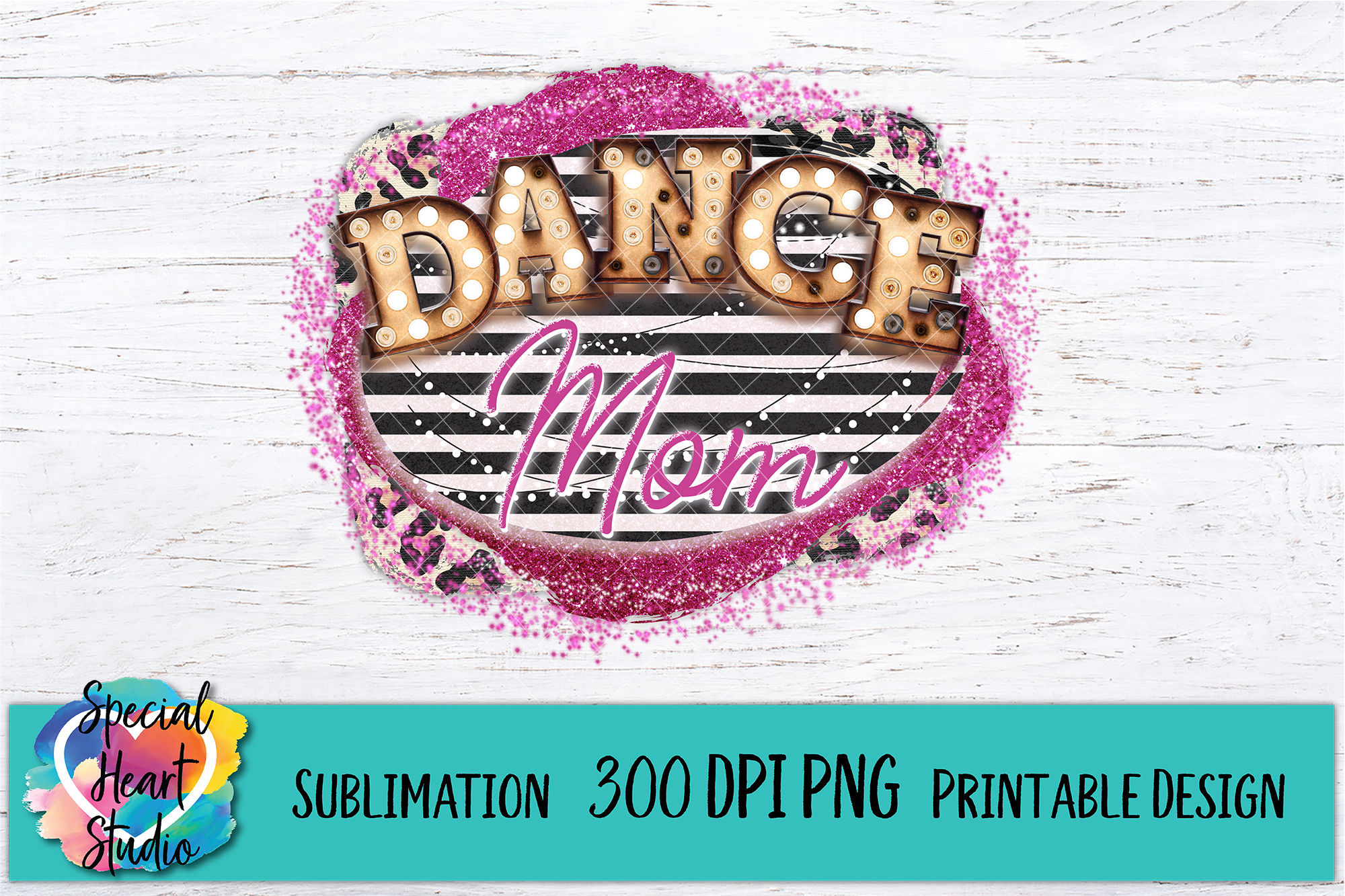Dance Mom- Sublimation Printable 300 DPI PNG example image 2